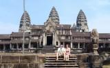 Boczne wejscie do Angkor Wat