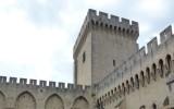 Dziedziniec starego Pałacu Papieskiego
