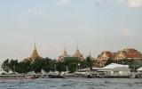 Widok z rzeki Menam na Wielki Kompleks Pałacowy
