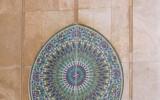 Mozaika na ścianie meczetu