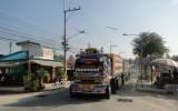 Tajlandzka ciężarówka