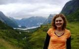 Mgła nad fjordem