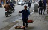 Sprzedawczyni ziemniaków i pomidorów
