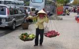 Sprzedawczyni owoców