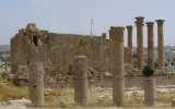 Jerash - Świątynia Zeusa