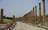 Jerash - ulica 600 kolumn