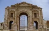Jerash - łuk Hadriana
