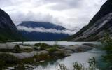 Jezioro z topniejącego lodowca