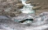 Topniejący lodowiec