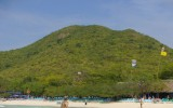 Zielone wzgórza wyspy Ko Lan