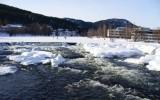 Kaskady wodne zimą