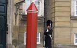 Gwardzista królewski przy Pałacu Chrystiana VII