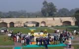 Raj Ghat – miejsce kremacji Mahatmy Gandhiego