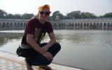 Jezioro przy Złotej Świątyni