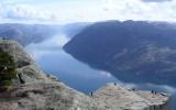 Półka skalna Prekestolen nad Lysefjord