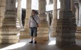 Kolumny z których słynie świątynia