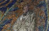 Fragment mozaiki z baptysterium Ortodoksów