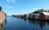 Starówka Bakklandet nad rzeką Nidelv