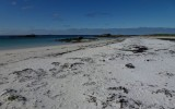 Piaszczysta plaża w Stave