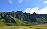 Góry na wyspie Andøya