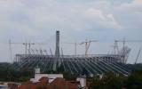 Stadion Narodowy - w budowie